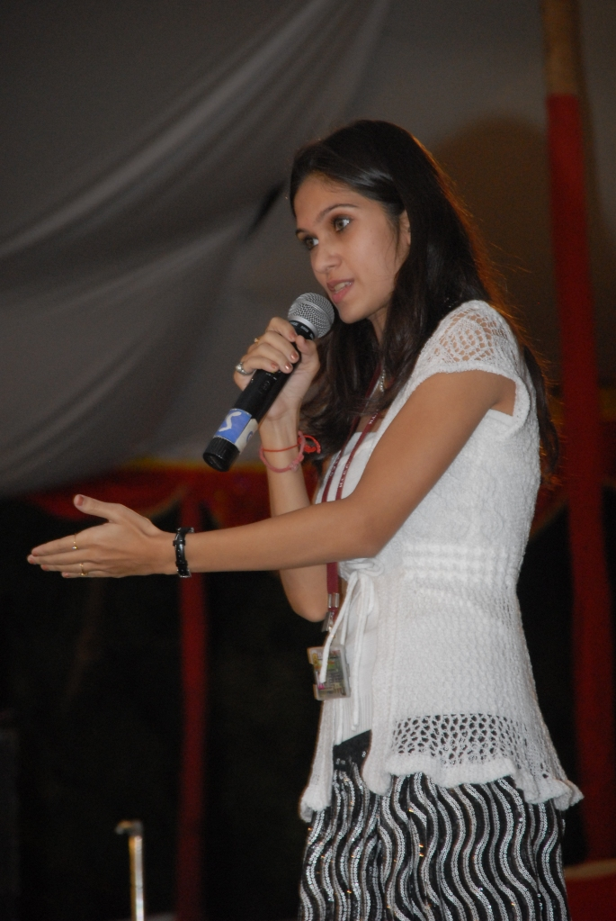 Presenting My Opinions at Personality Contest