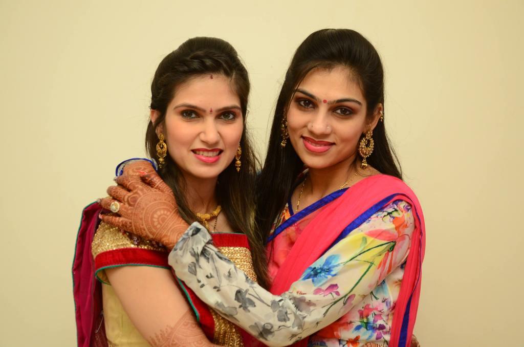 With my Sister Vaishali