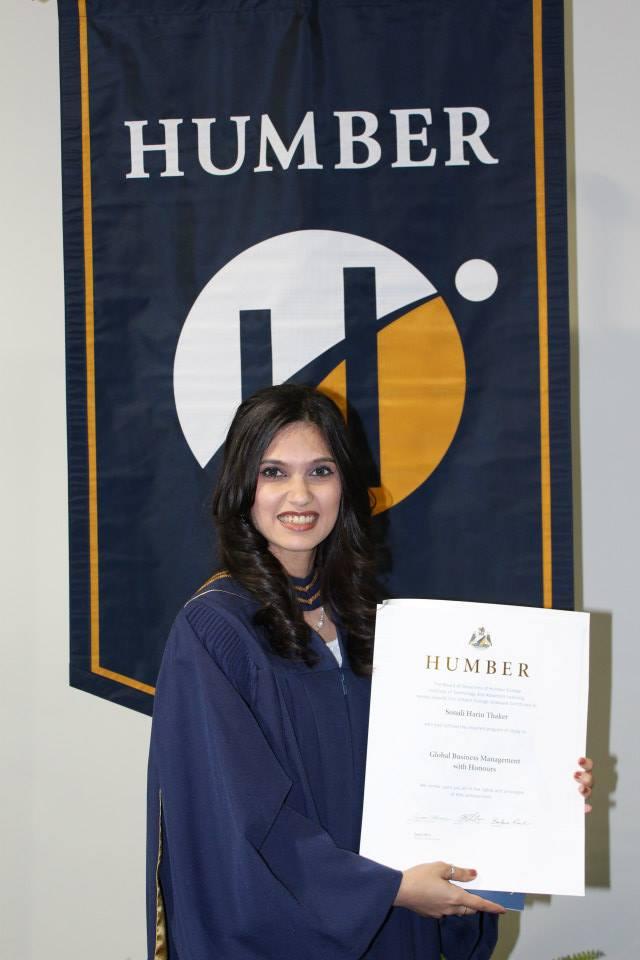 Graduation Ceremony at Humber College, Toronto, Canada